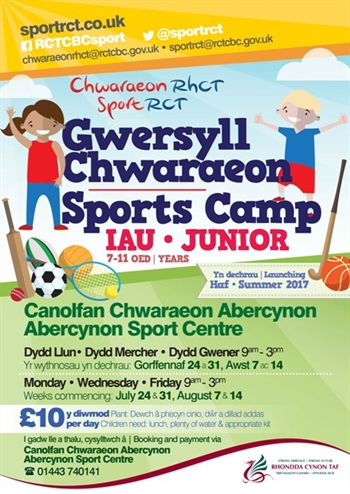 Summer Camps Abercynon Junior 1