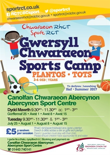 Summer Camps Abercynon Tots 1