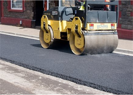 Road Laying - Men at Work - Road Surface - Highways-17