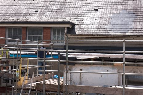 YGG Abercynon - Pre condition - Flat Roof-4