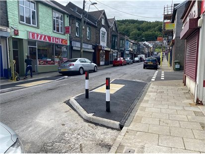 abercynon - build outs