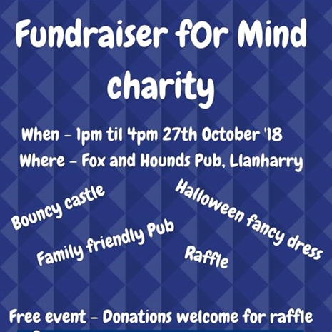 Fundraiser for mind charity