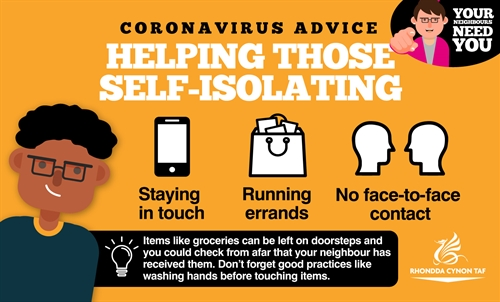 GRAPHIC 2 Corona Advice Self-Isolating