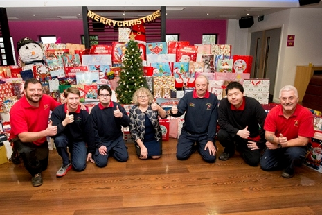 Almost 4,000 presents donated in RCT Santa Appeal 2018