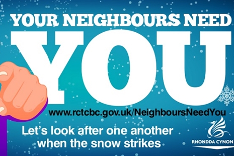 Your Neighbours Need You – looking out for one another during snow
