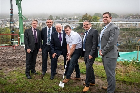Cross Valley Link – 'ground breaking' event and project update