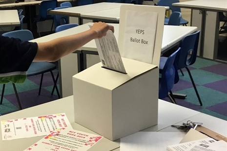 More than 3,700 young people engage in RCT Youth Vote 2019