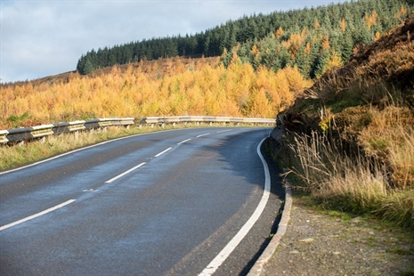 Maerdy Mountain Road drainage work requires half term closure