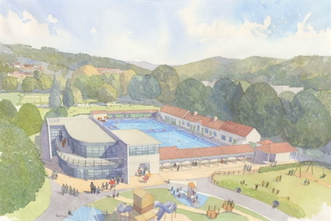 Lido Ponty Watercolour