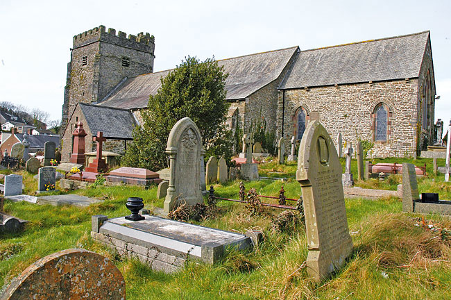 Llantrisant-church