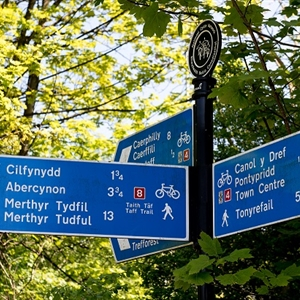 Taff Trail Signs