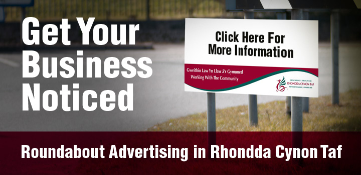 Roundabout advertising, get your business noticed